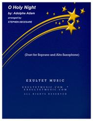O Holy Night (Duet for Soprano and Alto Saxophone)
