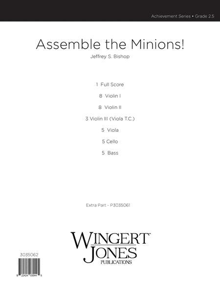 Assemble the Minions! - Score