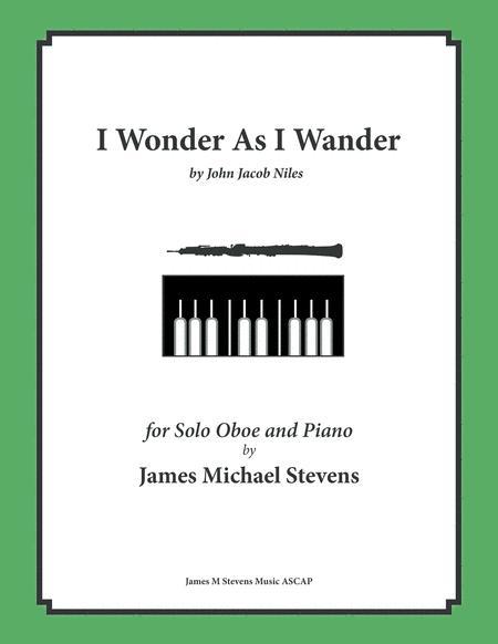 I Wonder As I Wander (Oboe & Piano)