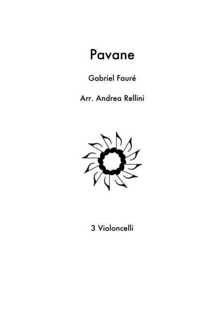 Pavane ( 3 Cellos)