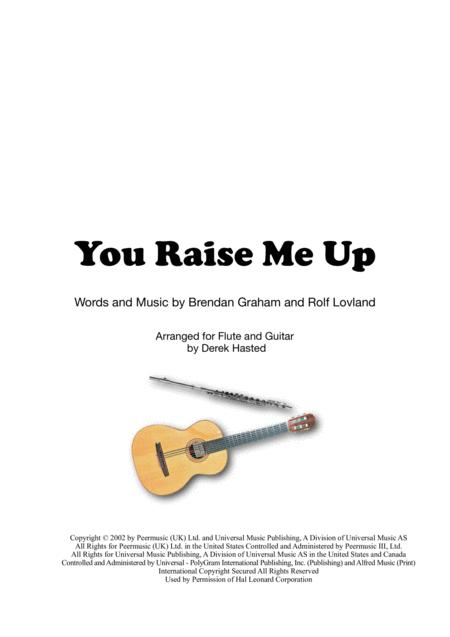 You Raise Me Up for Flute & Guitar