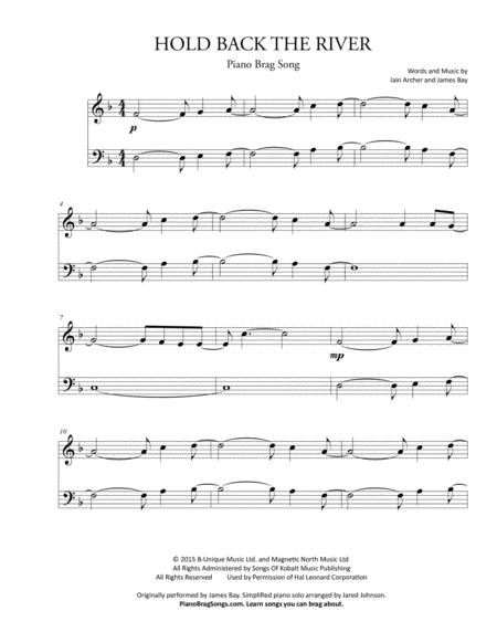 Piano Songs Sheet Music Erkalnathandedecker