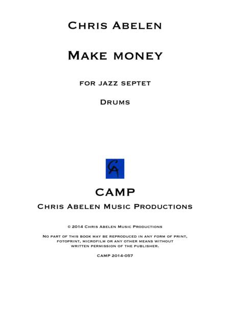 Make money - drums