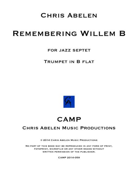 Remembering Willem B - trumpet