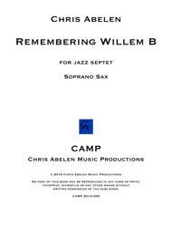 Remembering Willem B - soprano saxophone