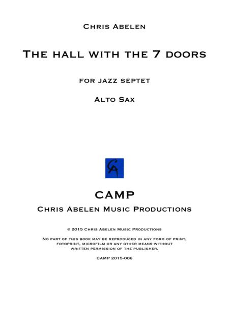 The hall - alto saxophone