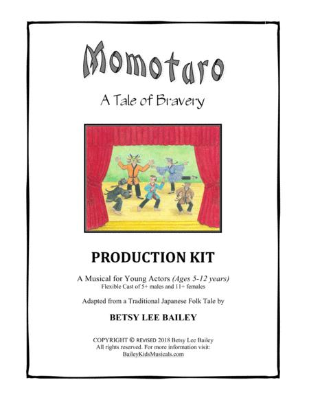 Momotaro, A Tale of Bravery - Children's Musical - Production Kit