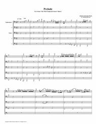 Prelude 08 from  Well-Tempered Clavier, Book 1 (Euphonium-Tuba Quintet)