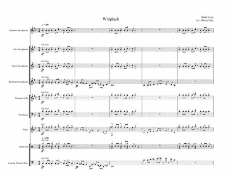 Whiplash - Arrangement for Jazz Ensemble