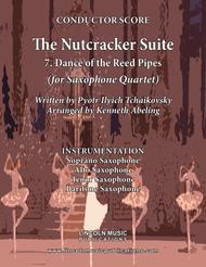 The Nutcracker Suite - 7. Dance of the Reed Flutes (for Saxophone Quartet SATB)