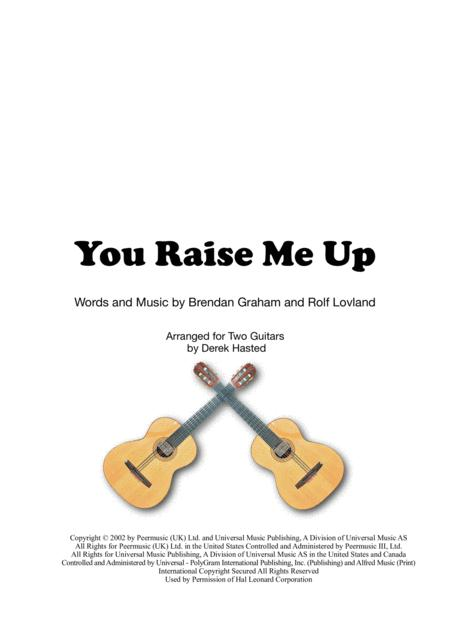 You Raise Me Up for 2 guitars