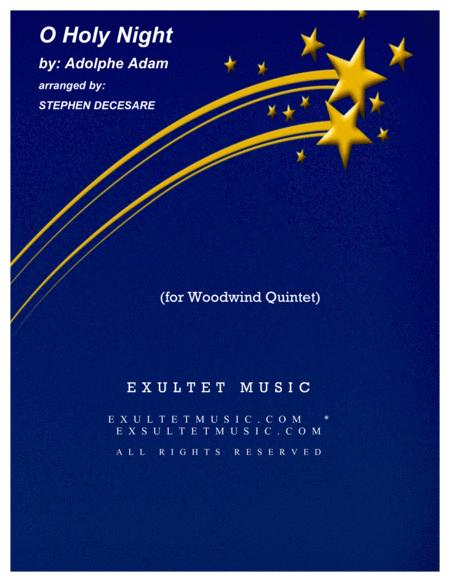 O Holy Night (for Woodwind Quintet)