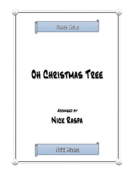Oh Christmas Tree (jazz piano)