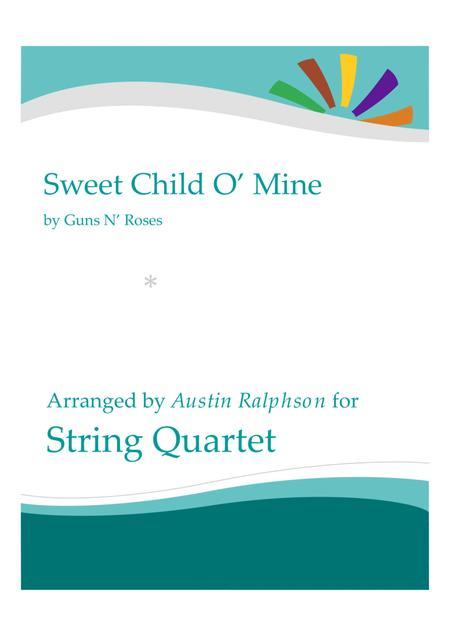 Sweet Child O' Mine - string quartet