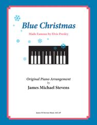 Blue Christmas by Elvis Presley (Christmas Piano)