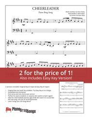 Cheerleader (Simplified and Easy Key Piano Solos) - Omi