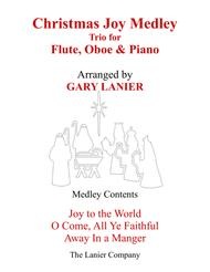 CHRISTMAS JOY MEDLEY (Trio – Flute, Oboe & Piano with Parts)