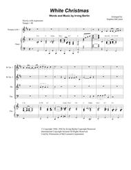 White Christmas (for Brass Quartet)