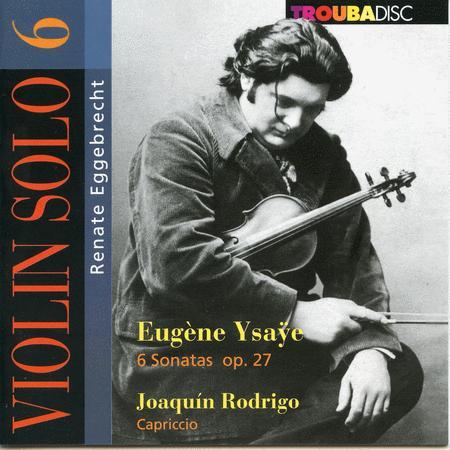 Violin Solo: Renate Eggebrecht, Vol. 6