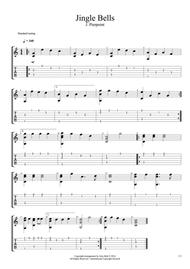 download jingle bells fingerstyle guitar sheet music by alex bett sheet music plus. Black Bedroom Furniture Sets. Home Design Ideas