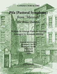 Handel - Pifa (Pastoral Symphony) from Messiah (for Brass Quintet)