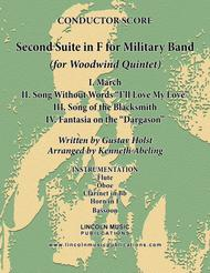 Holst - Second Suite for Military Band in F (for Woodwind Quintet)