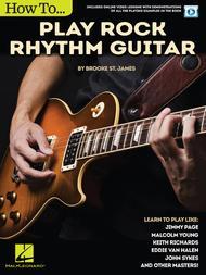 How to Play Rock Rhythm Guitar