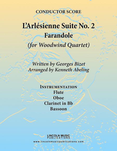 Bizet - Farandole from L'Arlesienne Suite No. II (for Woodwind Quartet)