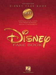 The Disney Fake Book - 4th Edition