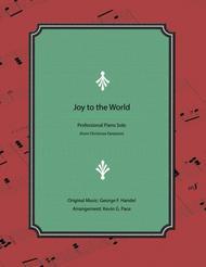 Joy to the World - Professional Piano Solo