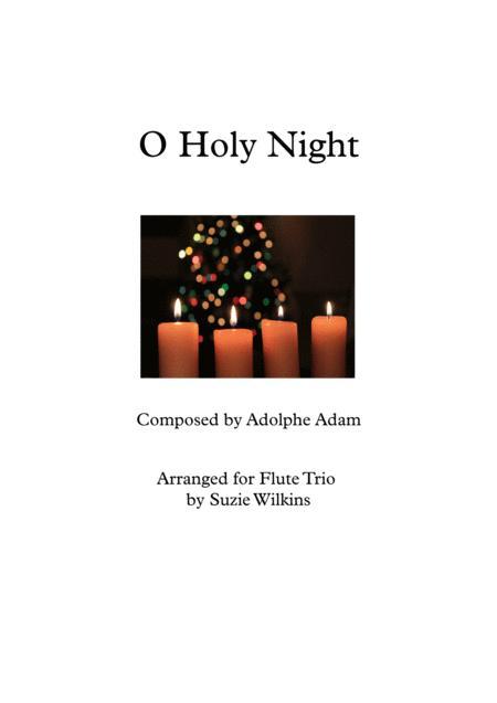 O Holy Night for Flute Trio