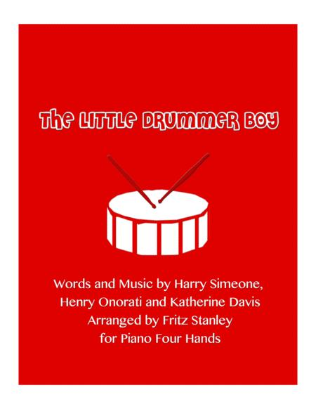 The Little Drummer Boy for Piano Four Hands