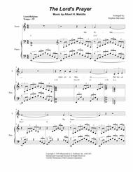 The Lord's Prayer (Duet for Soprano and Tenor Solo - Medium/Low Key - Piano)