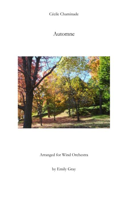 Automne for Wind Orchestra (Score)