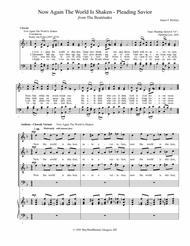 Now Again The World Is Shaken (Pleading Savior) - Anthem - Chorale Variant