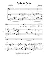The Lord's Prayer (Duet for Soprano and Alto Solo - Medium/Low Key - Piano)