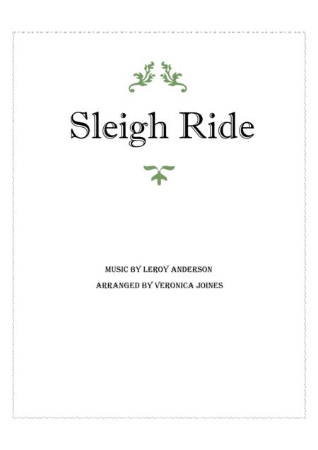 Sleigh Ride for String Trio