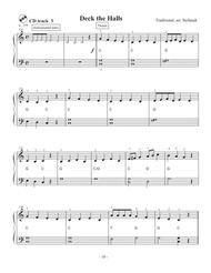 Deck the Halls, very easy piano