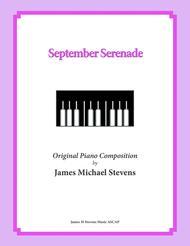 September Serenade (Romantic Piano)