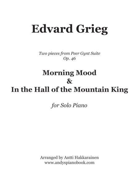 Morning Mood & In the Hall of the Mountain King