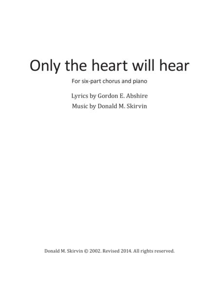 Only the Heart Will Hear