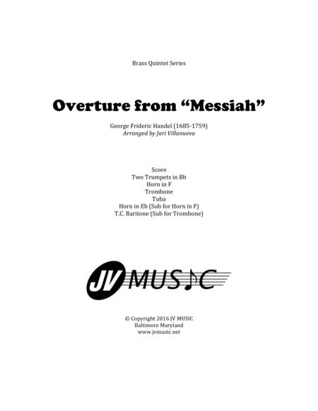 Overture to Messiah by Handel for Brass Quintet