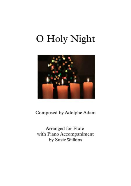 O Holy Night for Flute and Piano