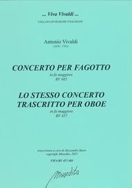Bassoon Concerto in F major RV 485 / Oboe Concerto in F major RV 457