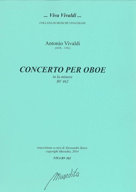 Oboe Concerto in a minor RV 462