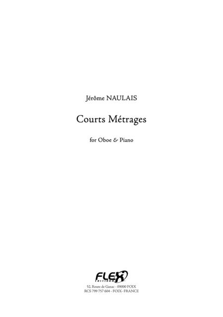 Courts Metrages (oboe and piano)