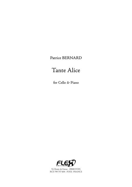 Tante Alice (cello and piano)