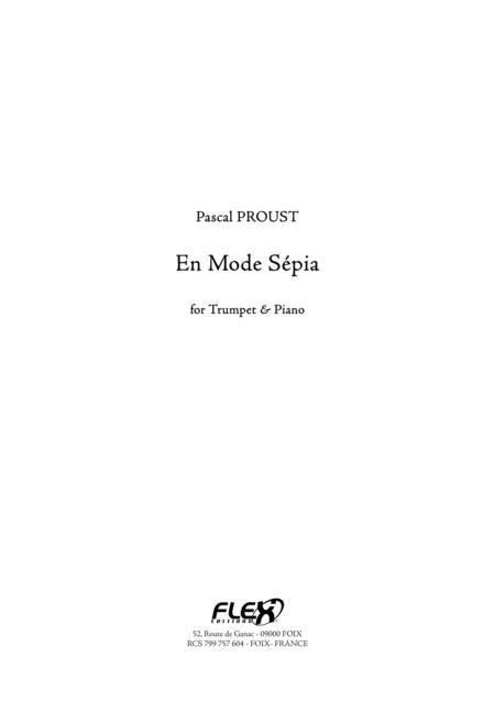 En Mode Sepia (trumpet and piano)