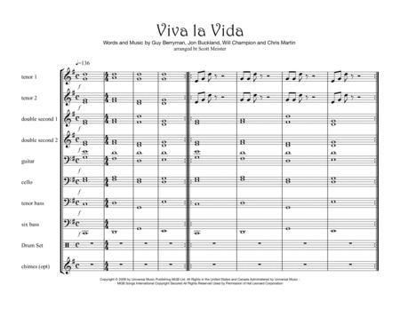 Viva La Vida for Steel Band