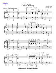 Sailor's Song, Op. 68, No. 1